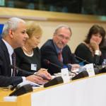 Expert Panel Discussion: Mr. Ron Mobed, Prof. Lena Kolarska-Bobińska, Mr. Nils Torvalds and Prof. Anne Glover.