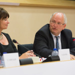 Prof. Anne Glover, Scientific Adviser to President of the European Commission and Dr. Gernot Klotz, Executive Director Research and Innovation at CEFIC