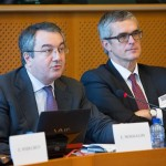 Prof. Elias Mossialos, Brian Abel-Smith Professor of Health Policy at the Department of Social Policy at the London School of Economics and Political Science and Director of LSE Health and Dr. Andrzej Rys, DG SANCO