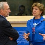 Ms. Neelie Kroes, European Commissioner for the Digital Agenda and Mr. Nils Torvalds, Member of the European Parliament
