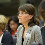 Ms. Jamie Zvirzdin, Editing Office Coordinator for Atomium Culture